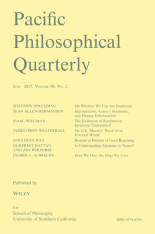 Pacific-Philosophical-Quarterly